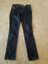 Pre-owned Encore dark blue ladies stretch Jeans Size 3
