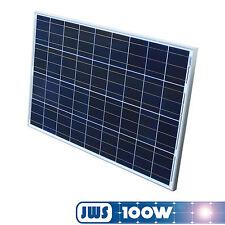 100Watt 12V 12Volt Solarpanel Solarmodul Solarzelle Solar Poly Polykristallin