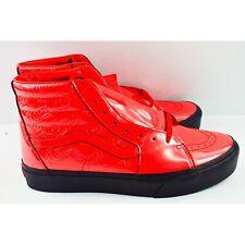 Vans SK8 Hi Platform 2 David Bowie Mens Size 9 Shoes Ziggy Stardust Red