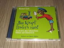 CD Jim Knopf findet´s raus Geschichten über Lokomotiven Vulkane und Scheinriesen