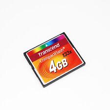Transcend 4GB CompactFlash CF Card 133X,CompactFlash Card 4GB,Memory card