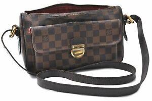 Auth Louis Vuitton Damier Ravello GM Shoulder Cross Body Bag N60006 LV B7039