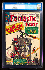FANTASTIC FOUR #26 (Marvel 1964) CGC old label 8.0 VF The Avengers Take Over!!!