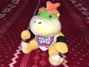 "Official 7"" Sanei Super Mario BOWSER JR. Plush Nintendo Toy 2011 NO TAGS"