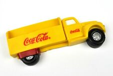 Coca-Cola Coke USA Truck Lieferwagen Fridge Magnet Kühlschrankmagnet gelb