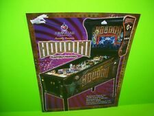 American Pinball HOUDINI Original Flipper Game Pinball Machine Flyer Version #3