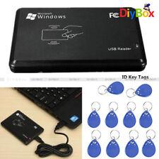 125Khz EM4100 USB Lector de Tarjeta de Identificación Rfid Proximidad + Cable IC Claves Etiquetas mandos de PC