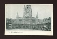 Glos Gloucestershire BRISTOL Temple Meads Railway Station c1900s? PPC
