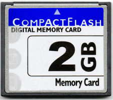 Unbranded 2GB CompactFlash I Camera Memory Cards