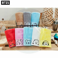 BTS BT21 Official Authentic Goods Bath Cotton Towel Pose pip Ver + Tracking Code