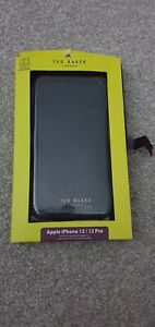 NEW TED BAKER APPLE IPHONE 12 / 12 PRO PHONE COVER CASE WITH MIRROR - NEW