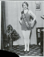MISS AMERICA BEATUY QUEEN OLD PHOTO Lois Delander 1927 Miss Illinois 2