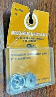 Strombecker #8330 Professional Championship Sereis Deluxe Lotus threaded wheels