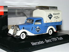 Schuco 02263 Mercedes-Benz 170V Planenwagen (Pick-Up) ARAL 1/43