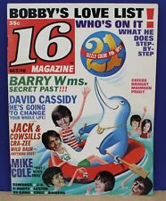 16 Magazine Oct 1970 Very Nice Copy with all 21 Color Pin-ups