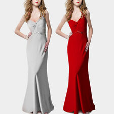 Polyester Ball Gown Formal Solid Dresses for Women