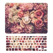 "Lavish Floral Matte Case + Keyboard Cover for Macbook Air 13"" A1369 & A1466"