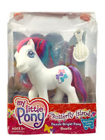 My Little Pony G3 Butterfly Island Dazzle Bright Pony Bowtie MLP NIB NEW 2004
