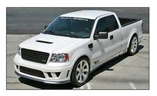 ORIGINAL SALEEN S331 F150 FADER CHEVRON STRIPES & WINDSHIELD  DECAL  SILVER SET