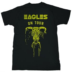 AUTHENTIC EAGLES ON TOUR SKULL CLASSIC ROCK BAND MUSIC TEE SHIRT S M L XL 2XL