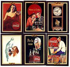 COCA COLA Lot de 6 Cartes NEUVES DIFFERENTES Lot N° COCA-L 055