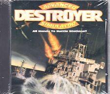 Advanced Destroyer Simulator (PC-Dos, CD-Rom, Jewel Case) BRAND NEW