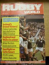 01/04/1982 Rugby World Magazine: April Edition - Complete Issue of the monthly m