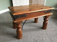 Indian Jali Sheeshan Wood Coffee Table