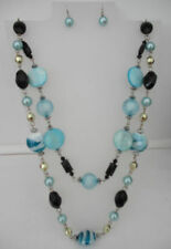Turquoise Unbranded Beaded Costume Necklaces & Pendants