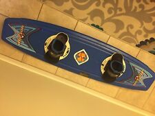 Hydro/Slide Illusion Blue Wakeboard With Bindings