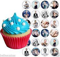 Eßbar Justin Bieber Tortenaufleger NEU Party Deko Geburtstag Muffinaufleger