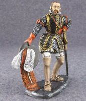 Toy Tin Soldier 54mm Medieval King Philip II of Spain 1/32 scale Metal Painted