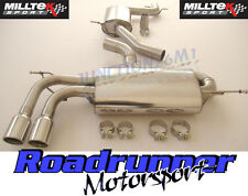 "Milltek SSXVW148 Golf GTI MK5 Exhaust System 2.75"" Cat Back Resonate TUV Jet Tip"