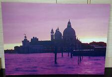 NEXT PLUM VENICE DESIGN LARGE CANVAS WALL ART PICTURE 100 X 70CM - EX DISPLAY