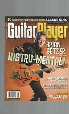 Guitar Player (mayo 2011) Brian Setzer Gary Moore Robert Johnson Albert King