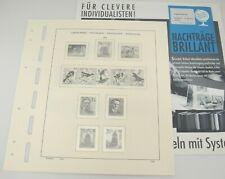 Schaubek Yugoslavia Hingeless Stamp Album Pages 2002 Brillant 829n02 New