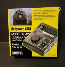 MRC RAILPOWER 1370 HO N Model Train Powerpack Analog Mint Box Full 18 VA
