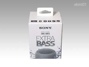 SONY SRS-XB12 Portable Bluetooth Speaker waterproof from JAPAN DHL Fast Ship NEW