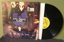 """Wu-Tang Clan """"Cream"""" 12"""" GZA Raekwon RZA ODB Method Man Orig OOP C.R.E.A.M."""
