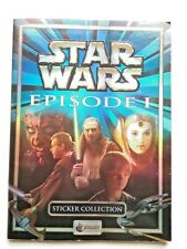MERLIN'S STAR WARS STICKER ALBUM,EPISODE I ,COMPLETE SET VERSION UK