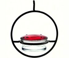 Couronne Clear Sphere Recycled Glass and Metal Hummingbird Feeder Courm045301
