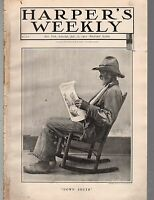 1902 Harpers Weekly July 12 - Murder and the Mafia;Trout fishing in Maine Rivers