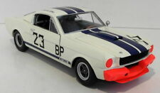 "FORD 1965 MUSTANG SHELBY GT 350 ""CHARLIE KEMP"" IN WHITE 1.18 SCALE DIE CAST"