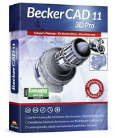 BeckerCAD 11 3D PRO - Architektur, Maschinenbau, Elektrotechnik, CAD Programm