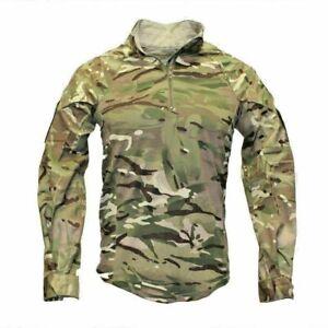 GENUINE BRITISH ARMY MTP MULTICAM UNDER ARMOUR COMBAT SHIRT-UBACS WARM WEATHER
