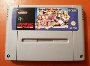 SUPER NINTENDO SNES GAME STREET FIGHTER II 2 TURBO CAPCOM TESTED GAME ONLY PAL