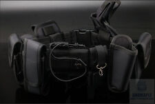 Tactical Heavy Duty Security Bouncer Police Hunting Guard Utility Belt Holster