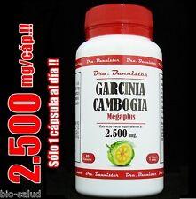 GARCINIA CAMBOGIA  Dra.Bannister 2500mg/60c. Adelgazar, control de peso