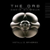 "THE ORB FEAT DAVID GILMOUR ""METALLIC SPEHRES"" CD NEW"
