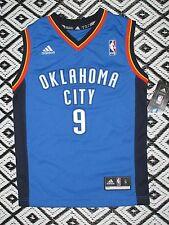 NBA OKLAHOMA CITY THUNDER SERGE IBAKA ADIDAS Youth SM 8 JERSEY NWT